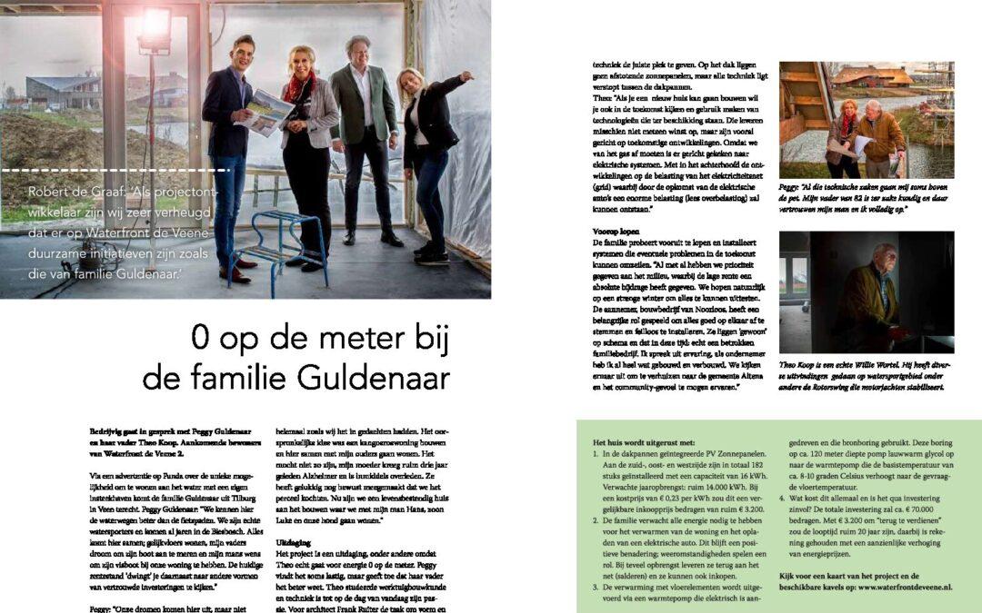 Duurzame initiatieven in beeld bij Waterfront de Veene – Bedrijvig Altena