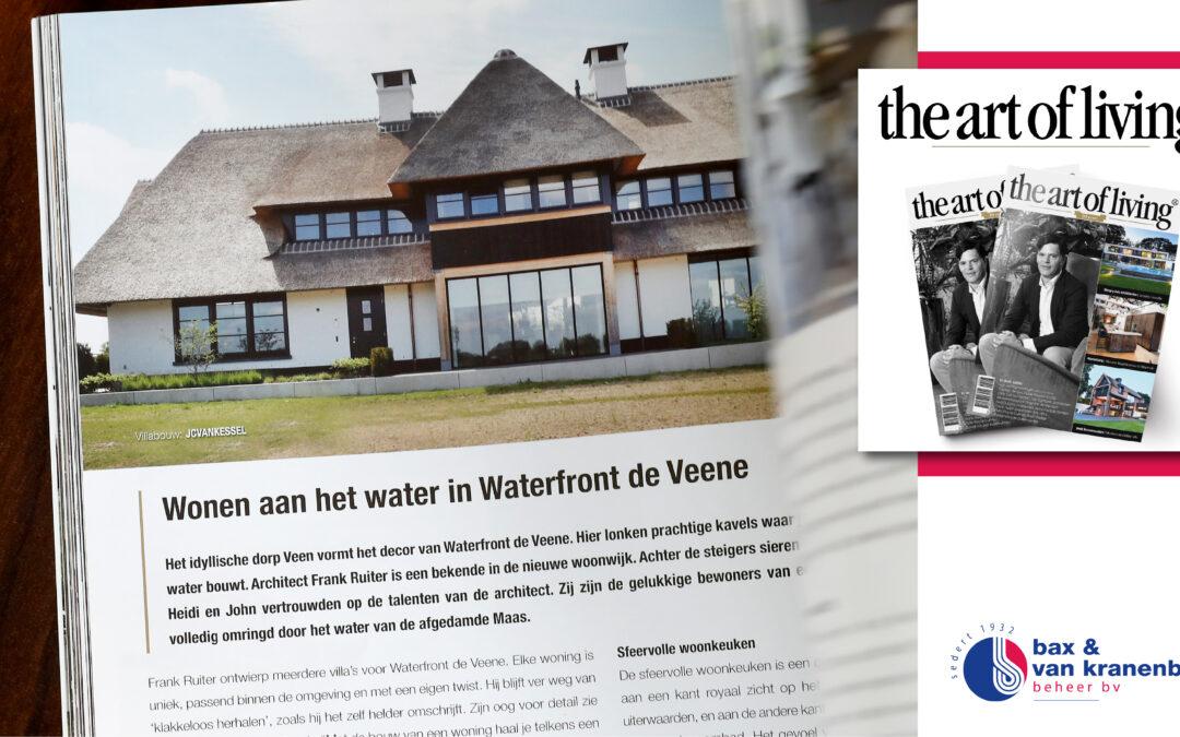 THE ART OF LIVING I Binnenkijken bij deze luxe villa in Waterfront de Veene.